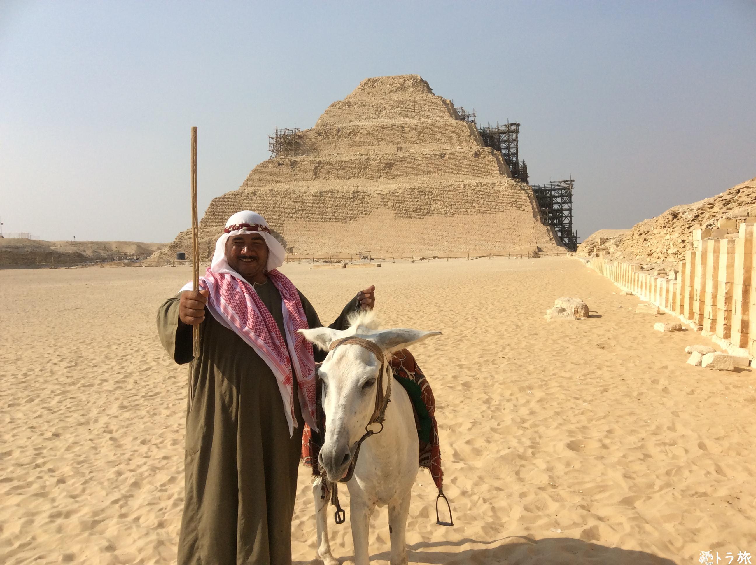 サッカラピラミッドではポニーのおっさんに気をつけろ!