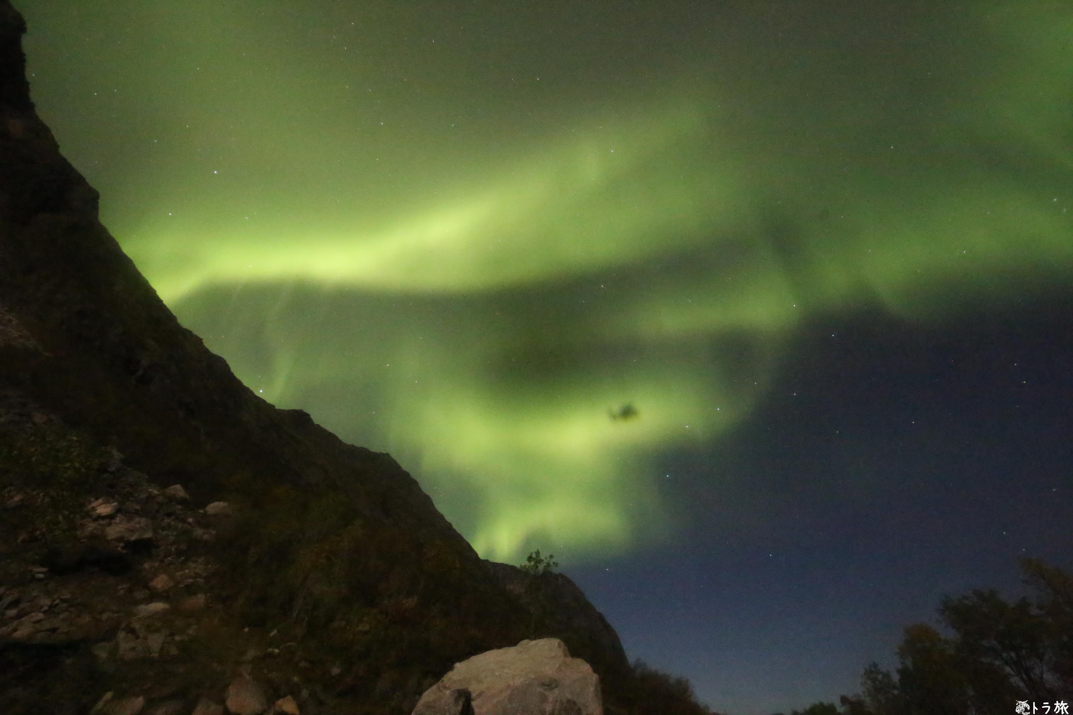 【トロムソ】雲だと思ってたらオーロラだった笑【ノルウェー】