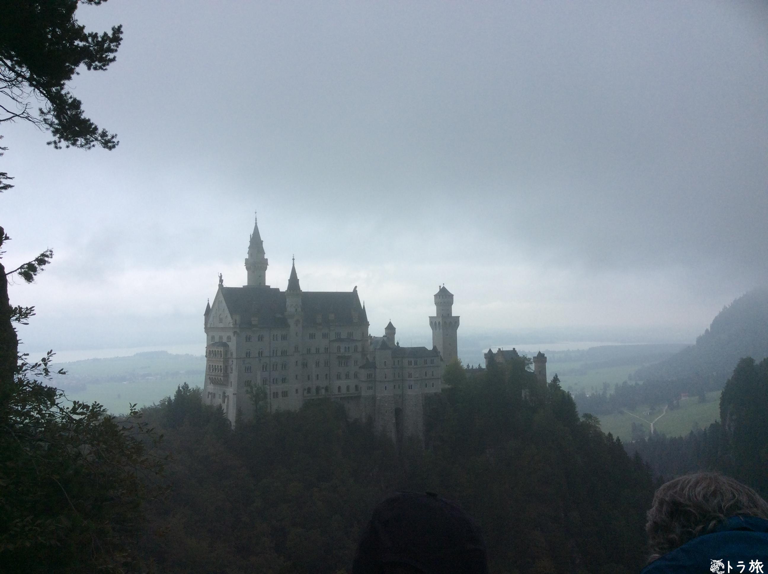 【ミュウヘン】噛まずに言えないノイシュバンシュタイン城に行ってみた【ドイツ】