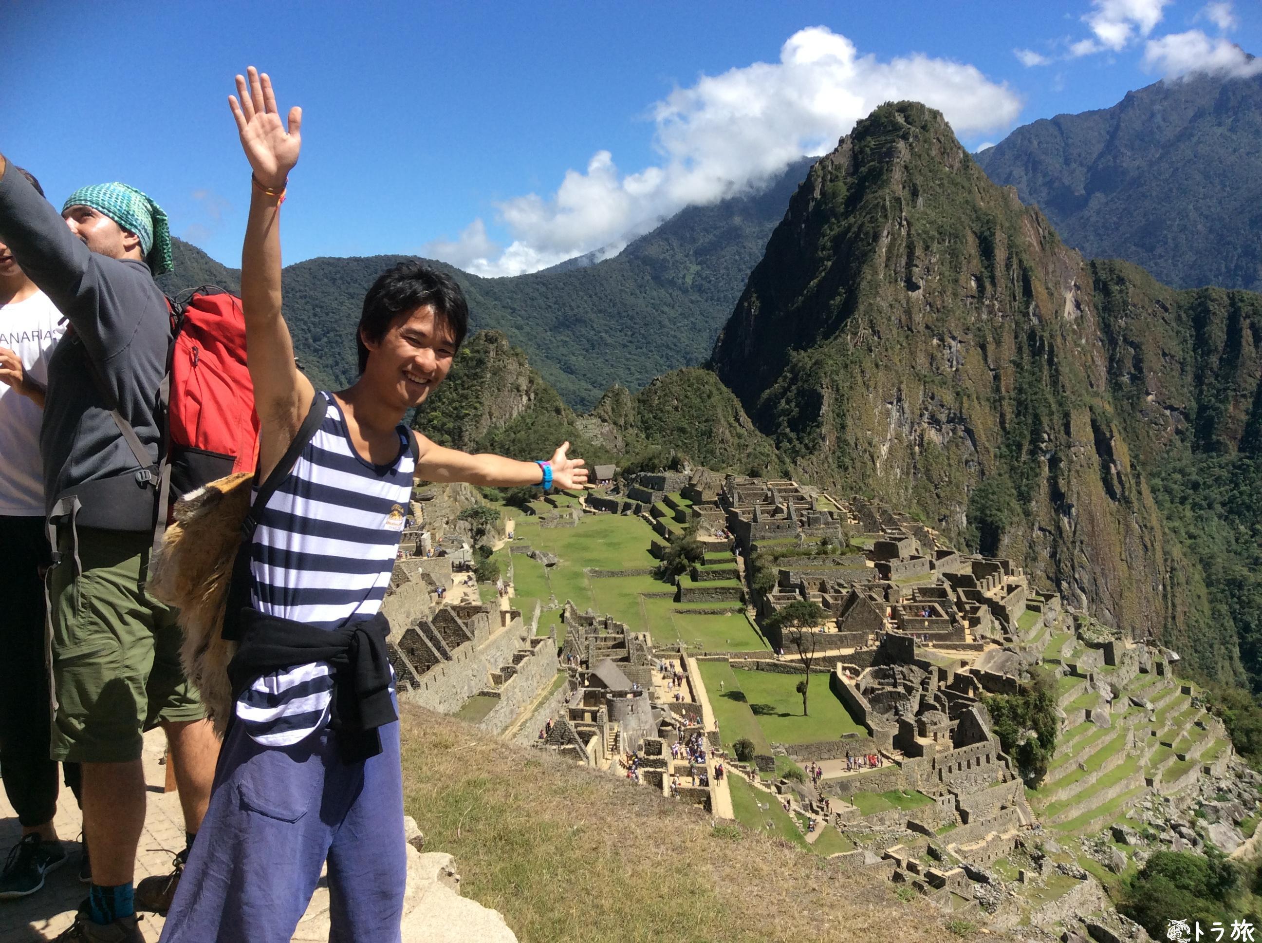 【マチュピチュ】インカ遺跡に野生のアルパカが現れた!【ペルー】