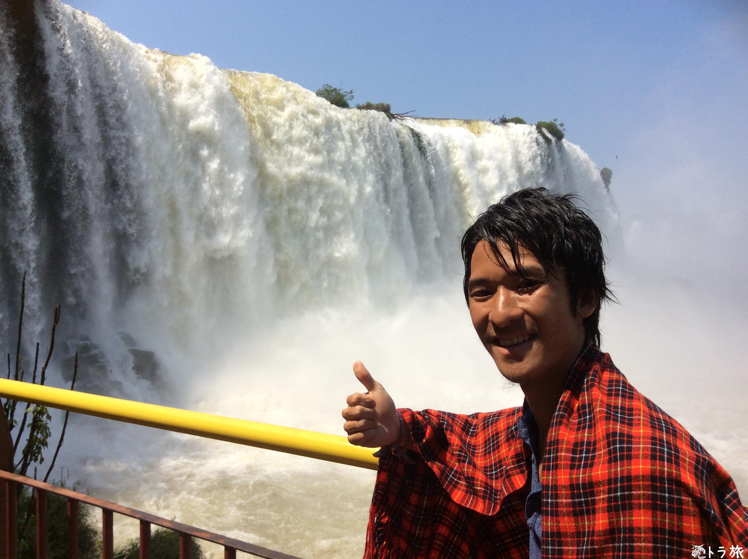 【ブラジル】圧倒的水量の瀑布!イグアスの滝【イグアス】