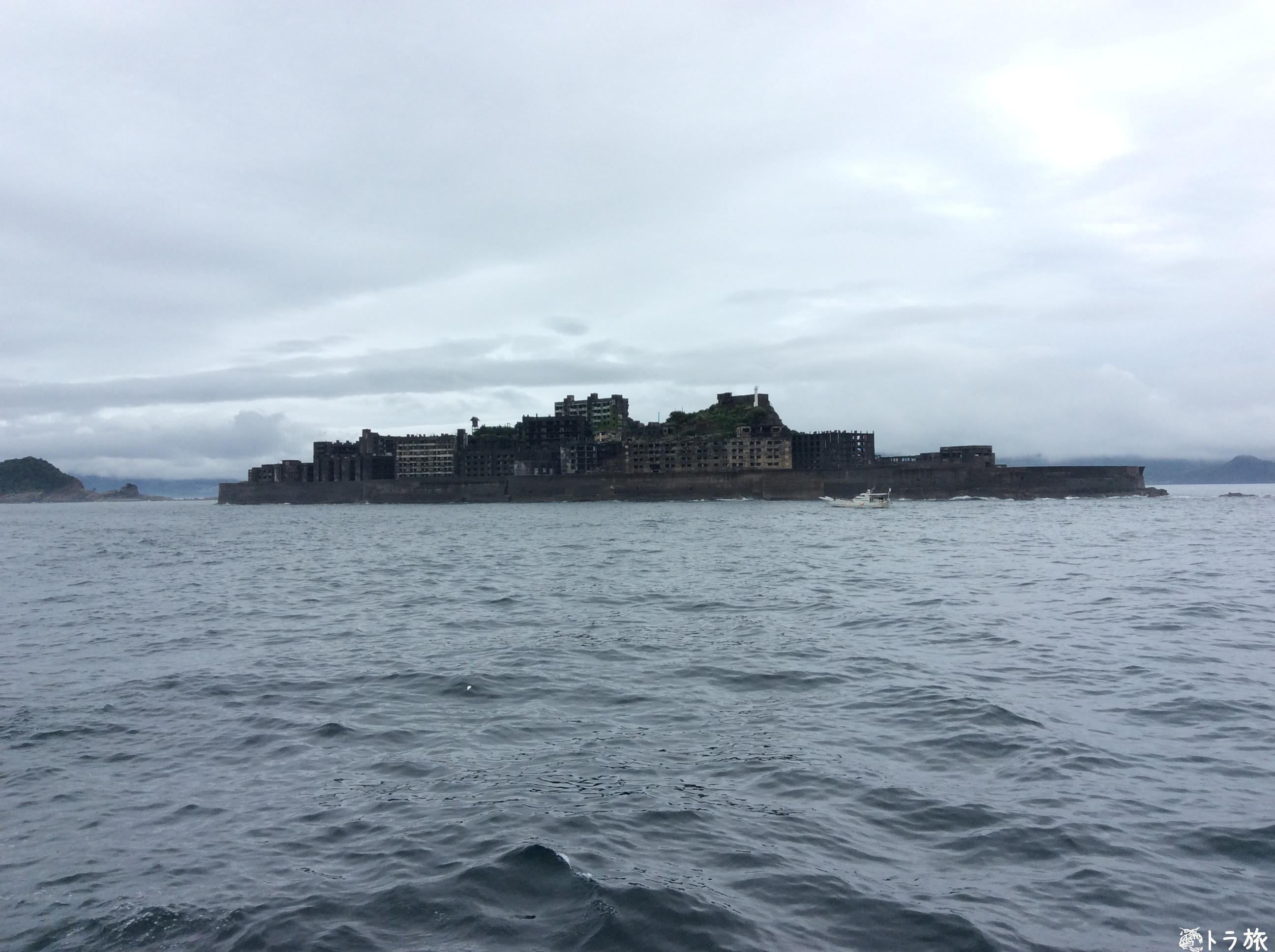 軍艦島ツアーは上陸しなくても満足できるのか【周遊ツアー感想】
