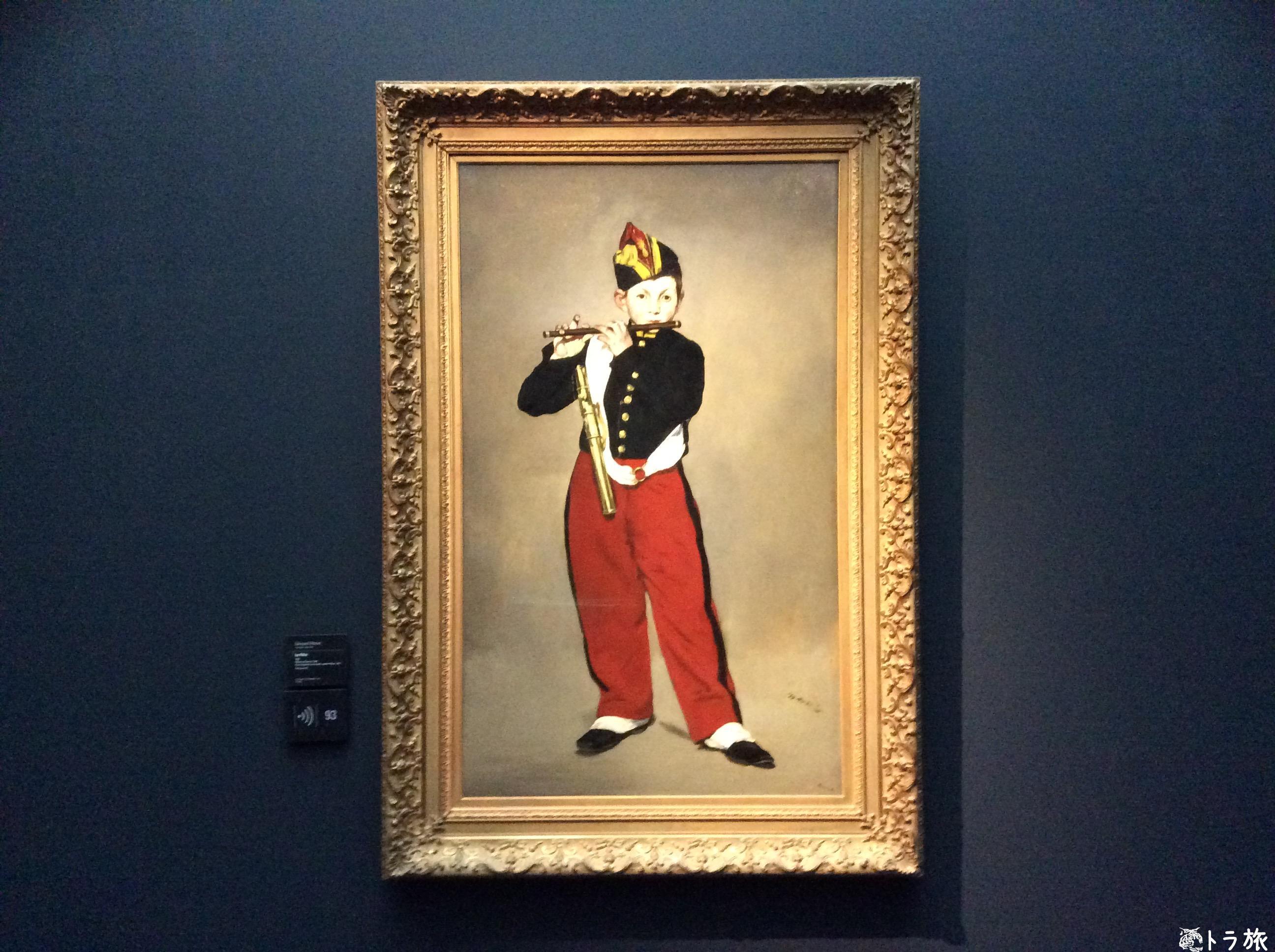 オルセー美術館で有名な作品を見てきました