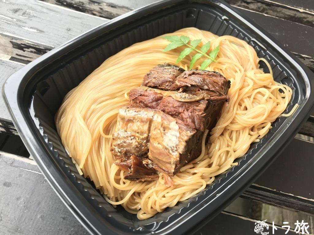 黒壁スクエアでは郷土料理「鯖そうめん」を食べよう
