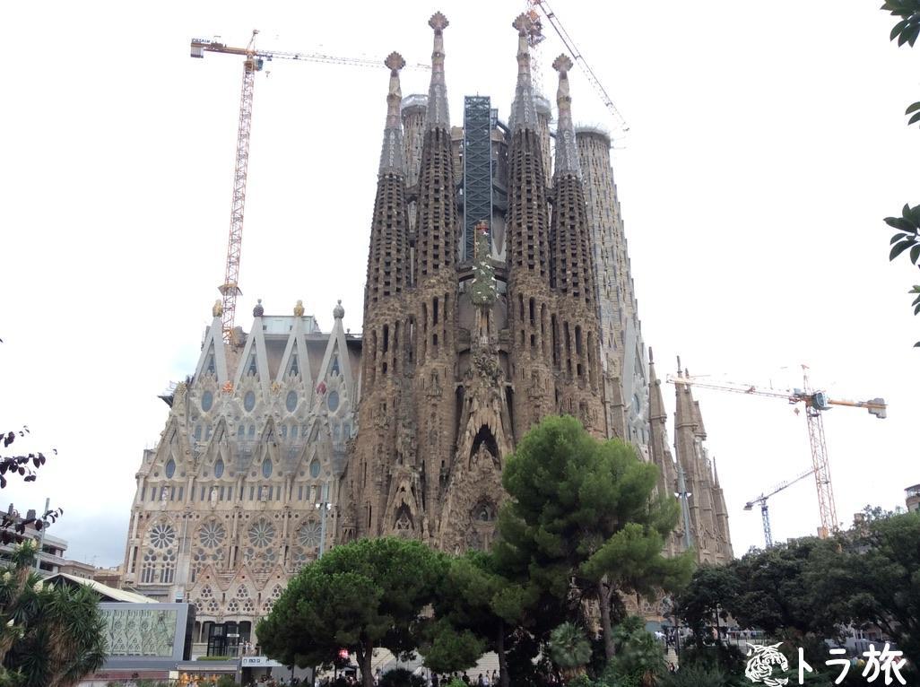 【バルセロナ】2026年完成予定のサグラダ・ファミリアはもう完成していると思うくらいすごい!