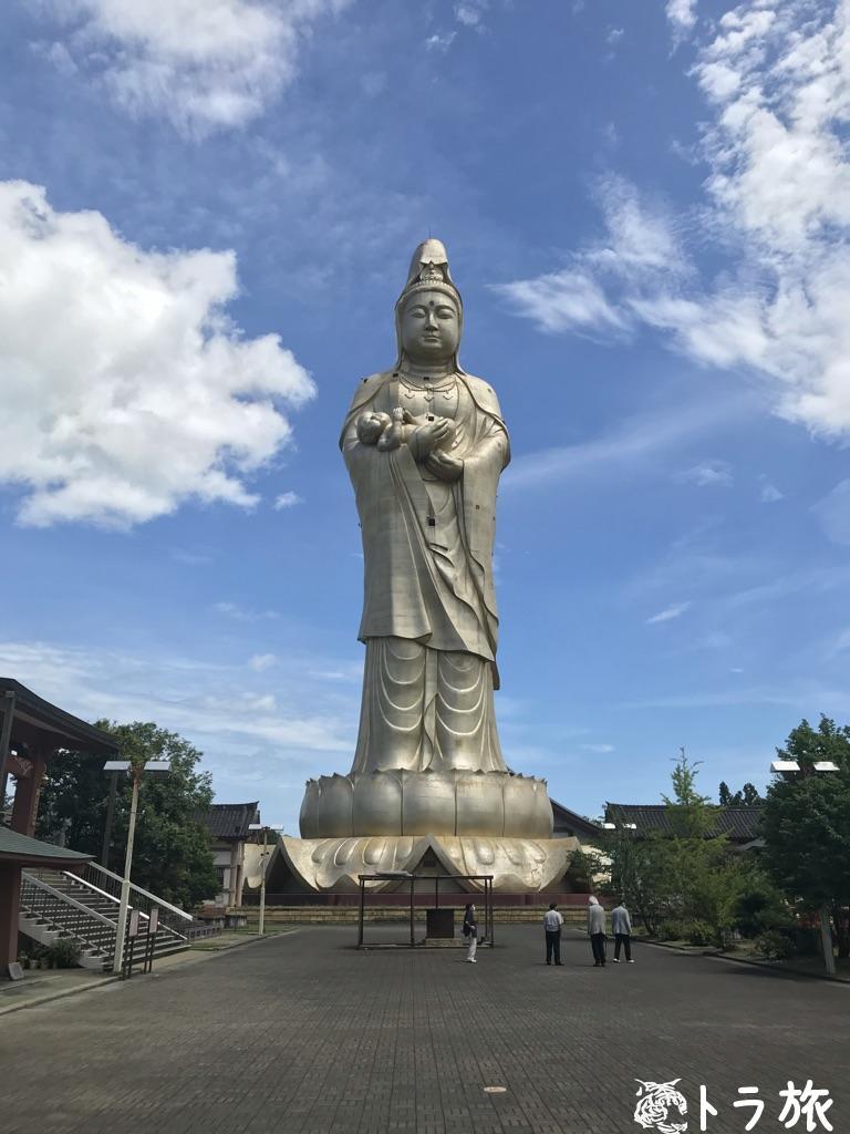 巨大観音像に世界一の梵鐘?廃墟となった石川県加賀市の秘境を訪れた