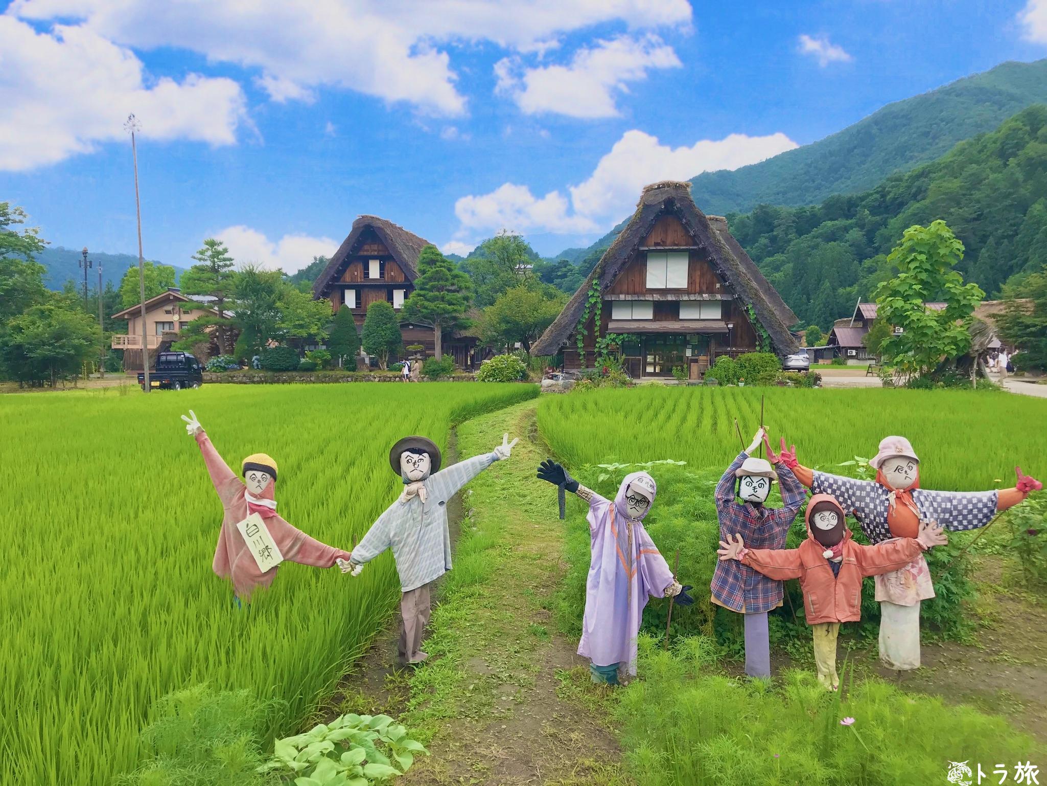 白川郷 五箇山の合掌造り集落の世界遺産登録理由と観光見所